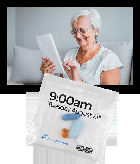 Chez Online Pharma, nous vous simplifions la vie en vous amenant une solution complete pour vos medicaments et prescriptions sur notre pharmacie en ligne au Quebec et à Montréal