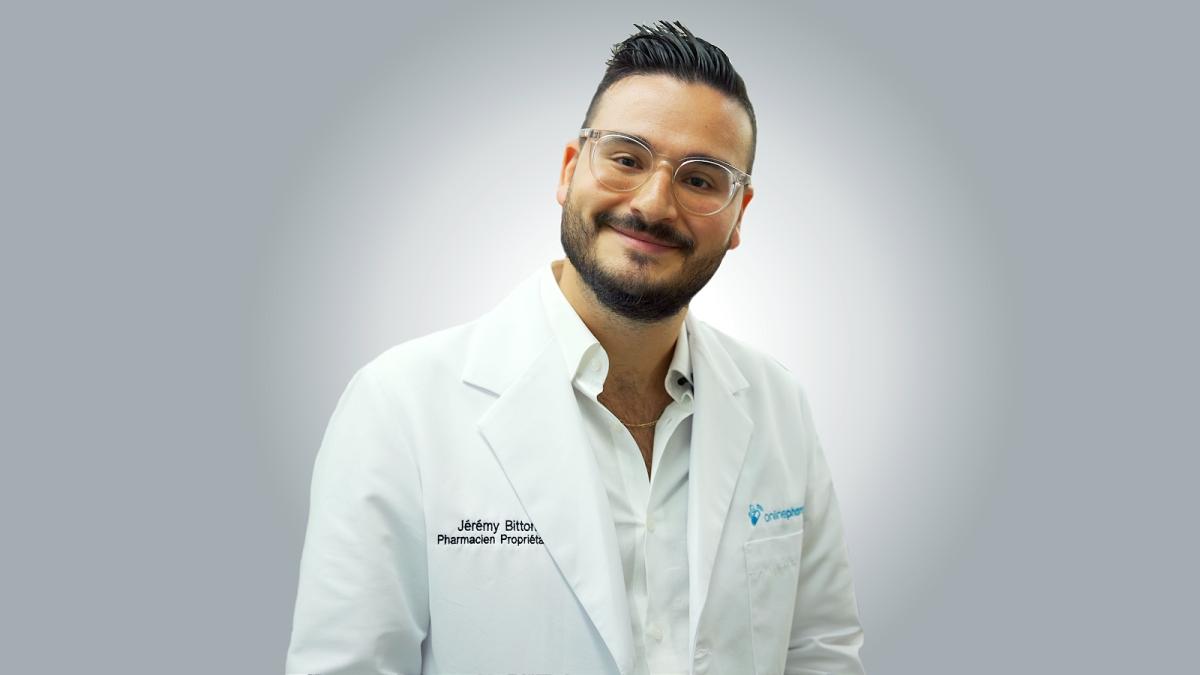 introduction Online Pharma Pharmacist Jeremy Bitton